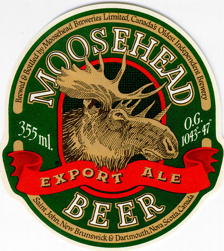 Moosehead Beer Calmont Beverage